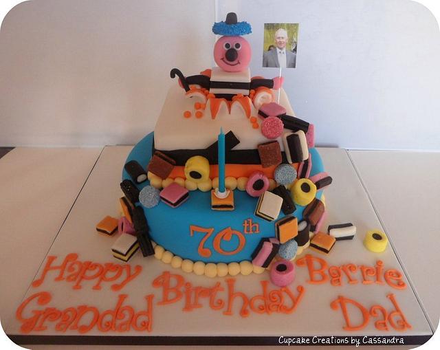 Bertie Basset Cake