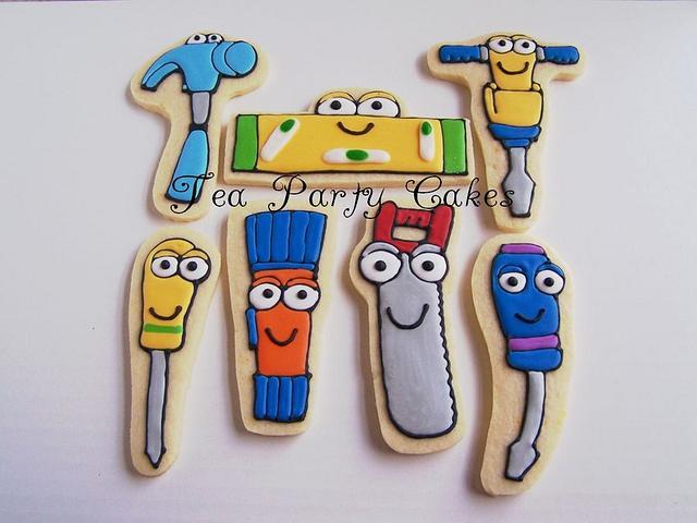 Handy Manny Cookies