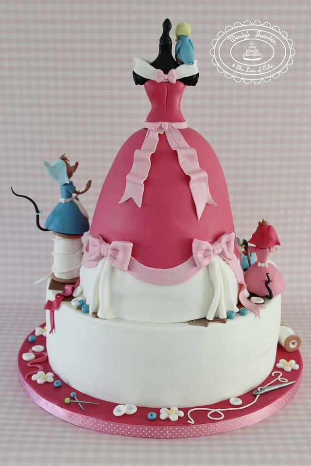 Cinderella we will make you a dress