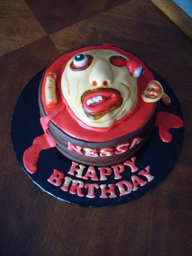 Walking Dead - Zombie Cake