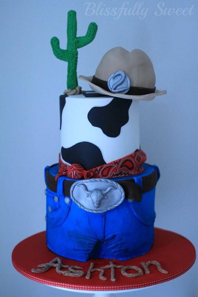 Fantastic Cowboy Birthday Cake Cake By Jacki Fanto Cakesdecor Funny Birthday Cards Online Alyptdamsfinfo
