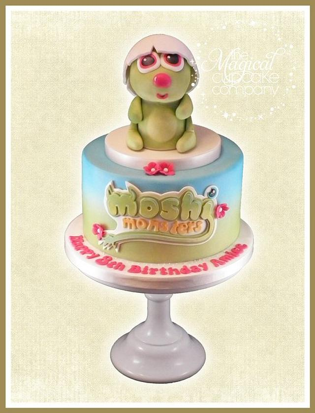 Moshi Monsters 'Pooky' Cake