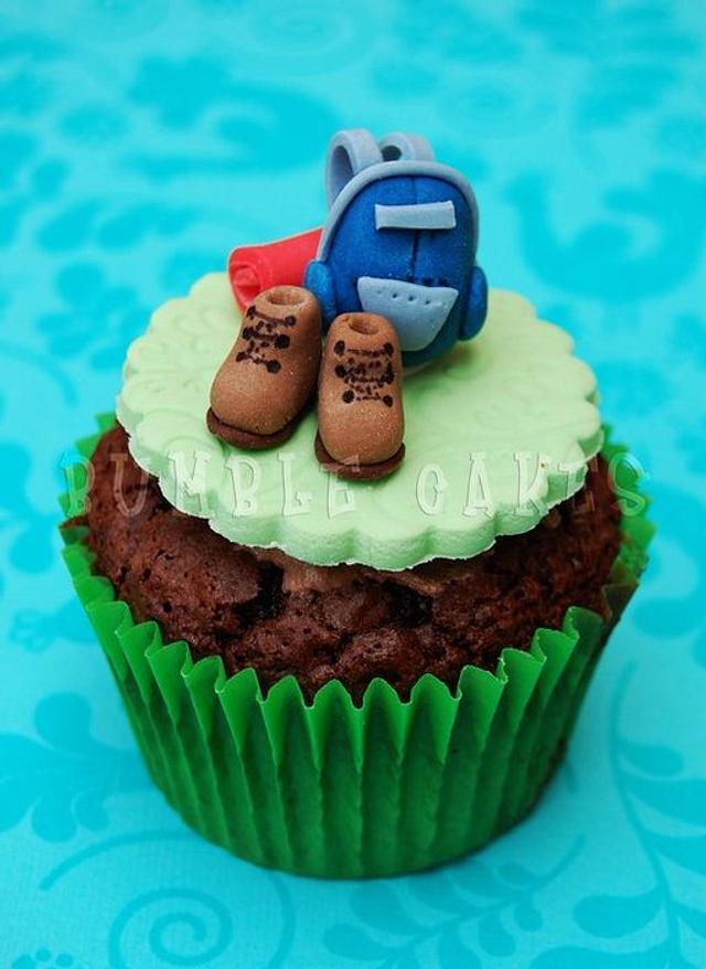 Camping Cupcake