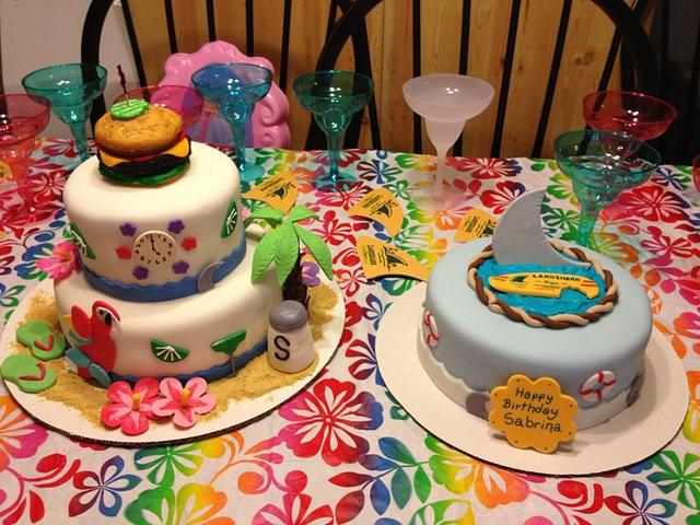 Margaritaville Party Cakes