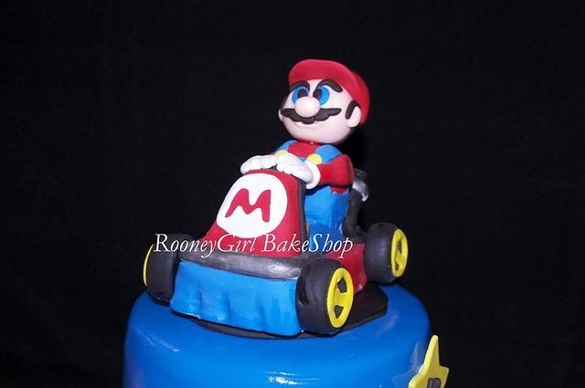 Super Mario Kart Birthday Cake by RooneyGirl Bakeshop