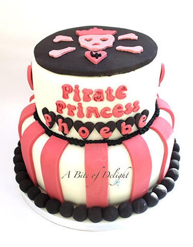 Pirate Princess Birthday Cake