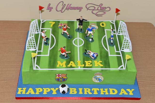 Football Themed Cupcakes!