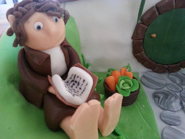 Hobbit Birthday Cake