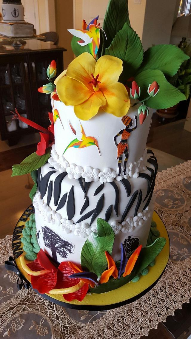 Floral diversity, When Senegal meets Martinique