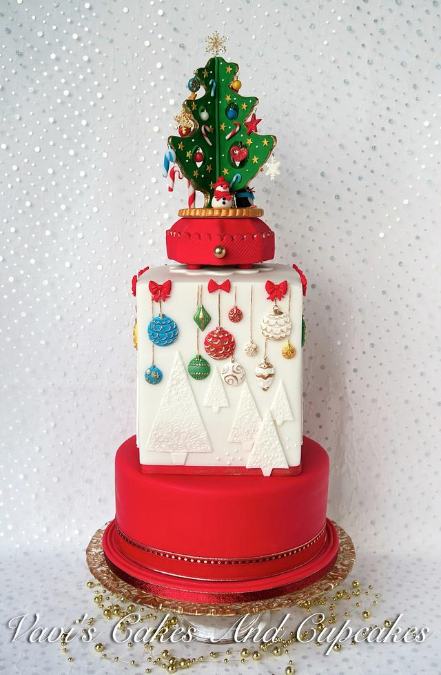 A Christmas Cake for my ANZA cycling club :)