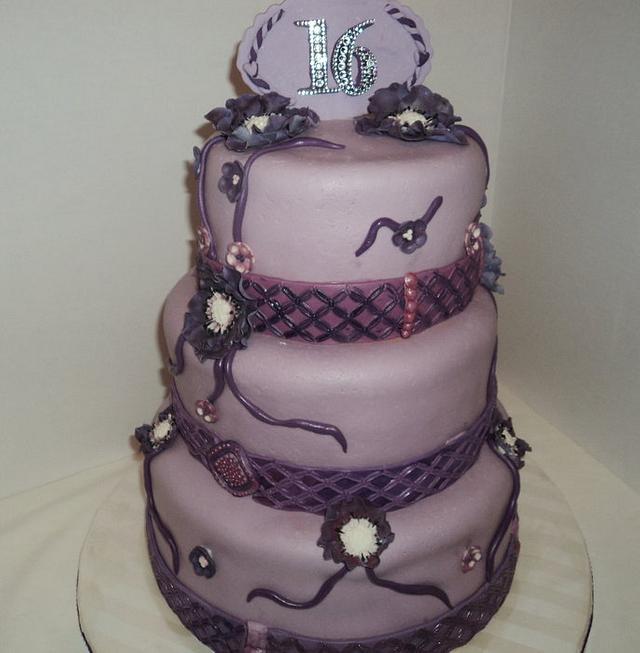Shades of Purple Sweet Sixteen