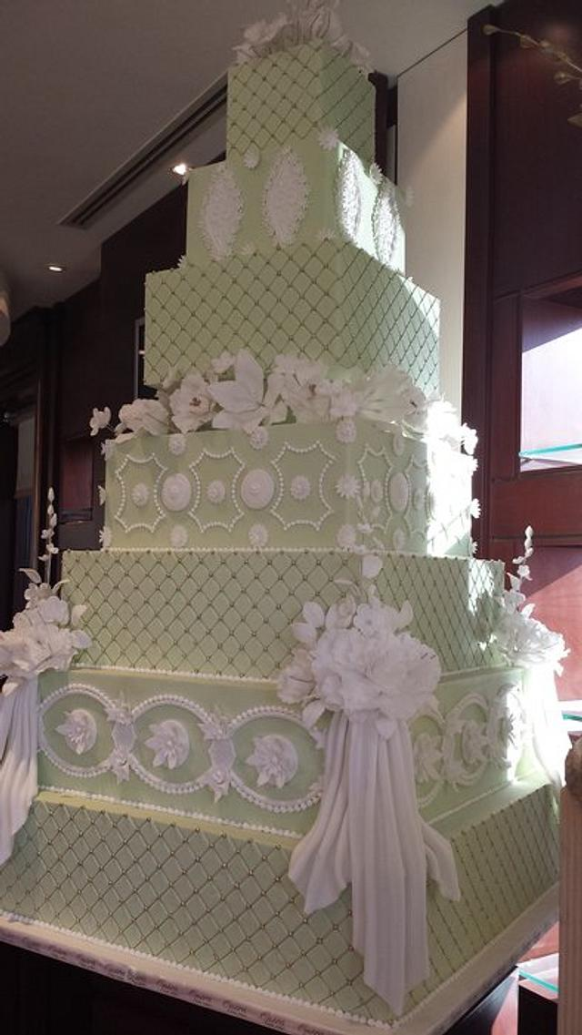 Wedding Cake By Opera Paris Kuwait