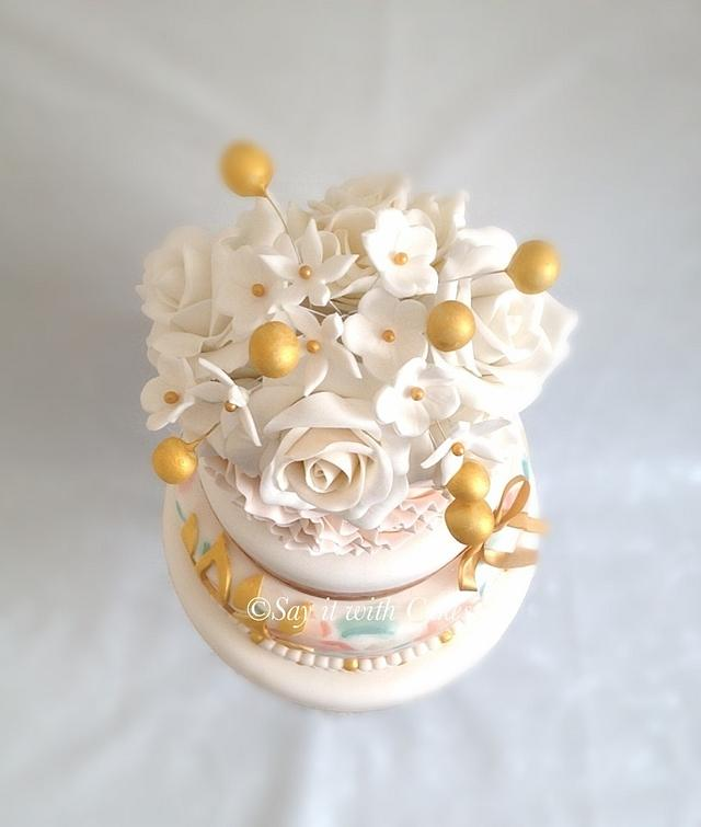 Paint, Ruffles and Roses