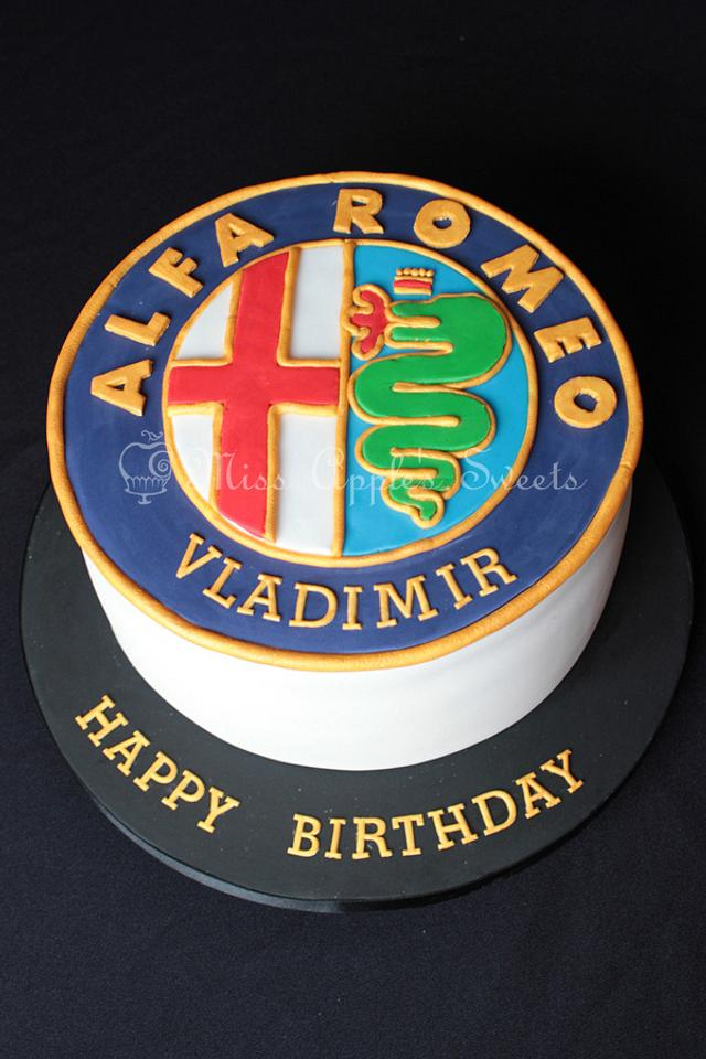 Alfa Romeo Cake