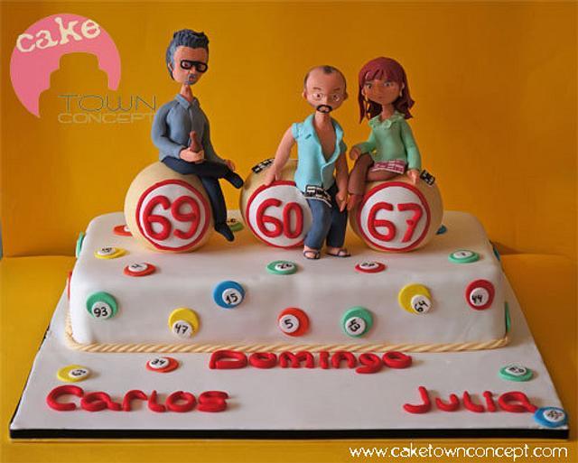 Bingo cake!!