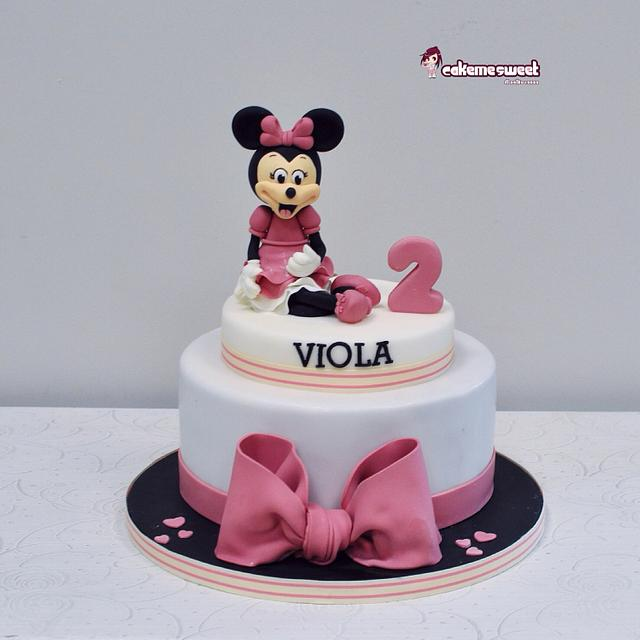 Minime mouse cake