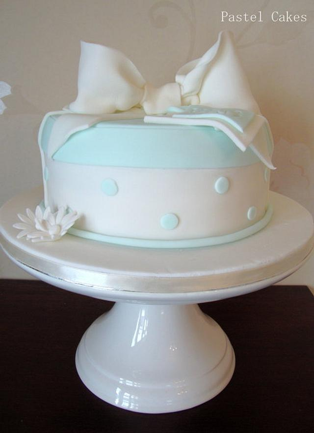 "Baby shower ""it's a boy"" cake"