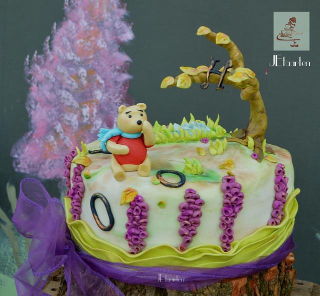 Winnie the Pooh 90th birthday collab cake