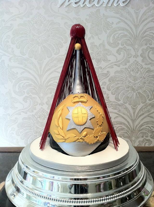 Household Cavalry State Helmet