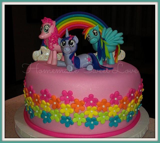Excellent My Little Pony Birthday Cake Cake By Brenda Lee Rivera Cakesdecor Personalised Birthday Cards Arneslily Jamesorg