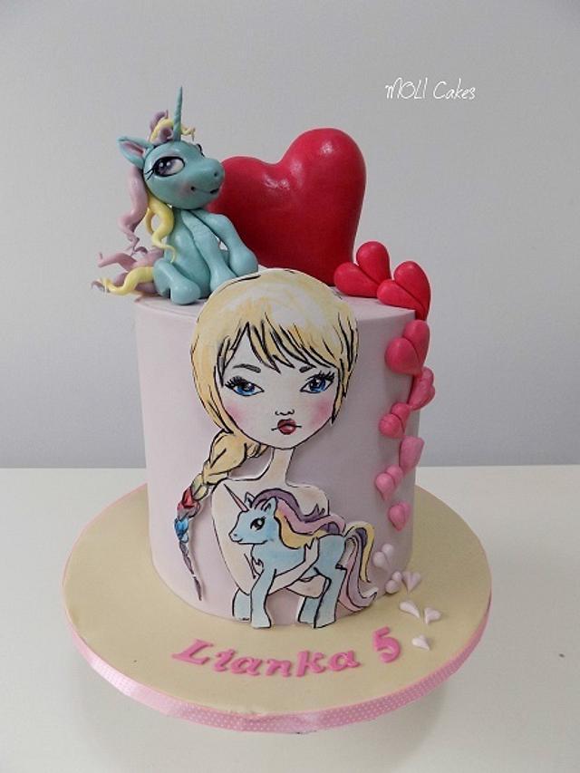 Pony cake
