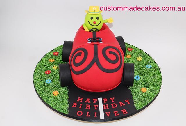 Mr. Funny Birthday Cake