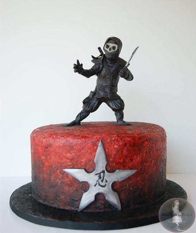 Prime Ninja Birthday Cake Cake By Tonya Alvey Madhouse Cakesdecor Funny Birthday Cards Online Hendilapandamsfinfo