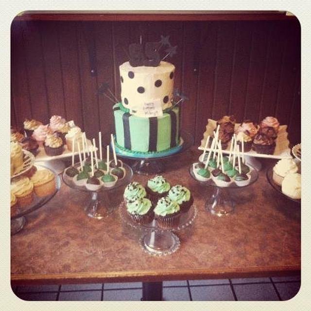 55th Birthday Cake & Desserts