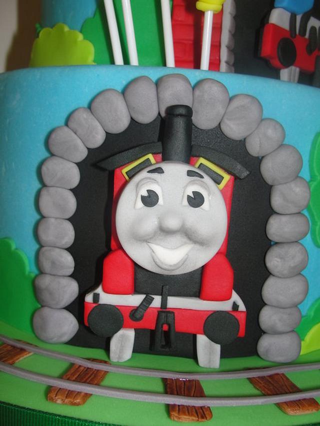 Thomas the Train 1st Birthday