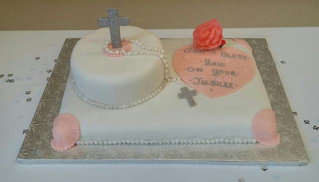 SISTER JULIAN'S JUBILEE CAKE