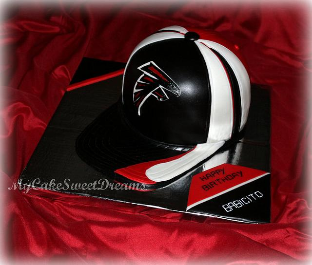 Atlanta Falcons Hat Cake