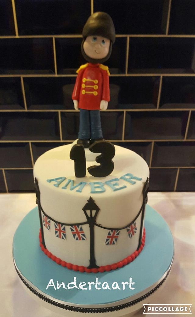 Great Brittain cake