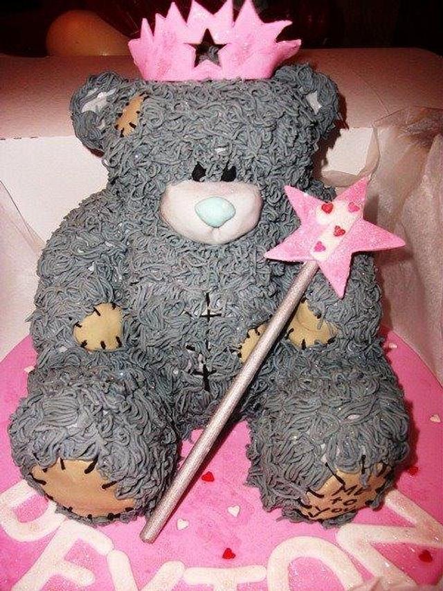 me 2 u teddy bear cake