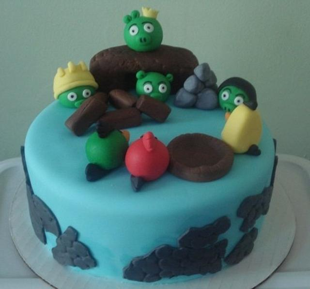 Angry Birds Cake 1