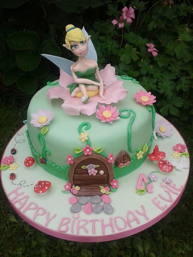 Sweet fairy cake