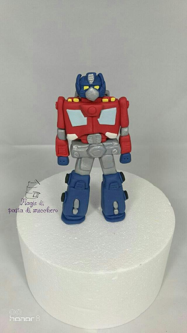 Transformers fondant