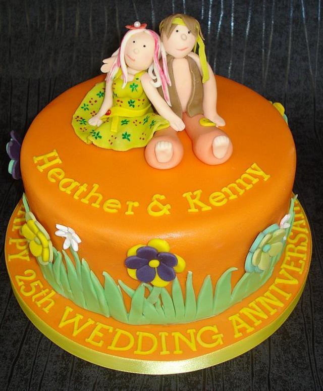 Hippy 25th wedding anniversary!