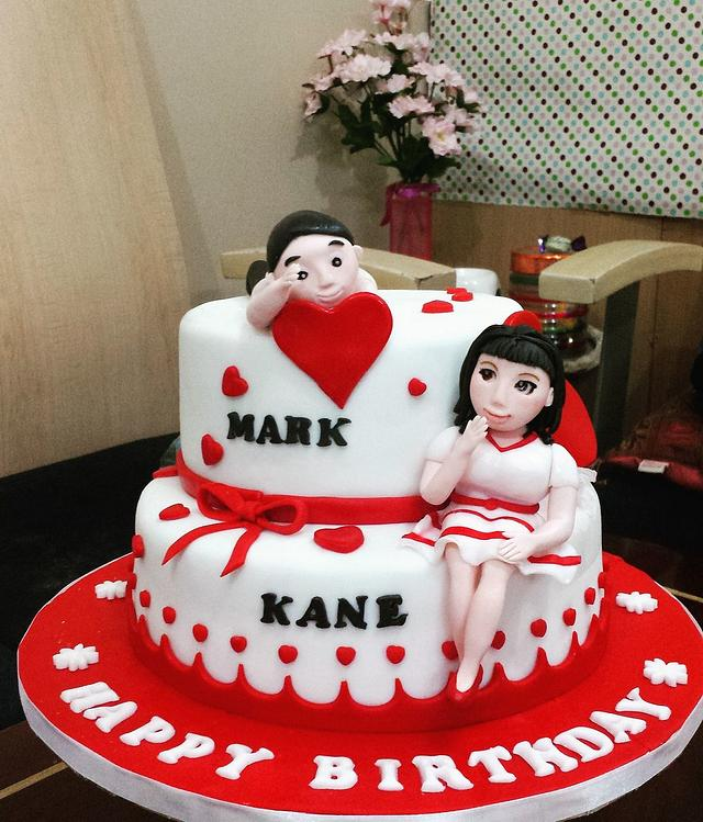 MK SweetHeart Cake
