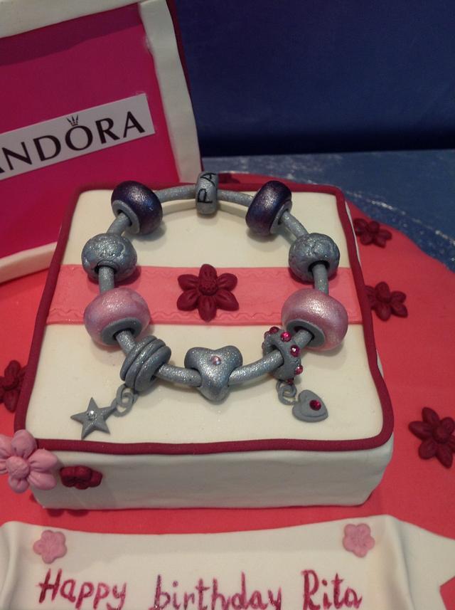 Sweet Pandora cake