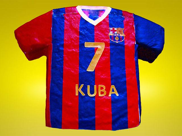 Football jersey.