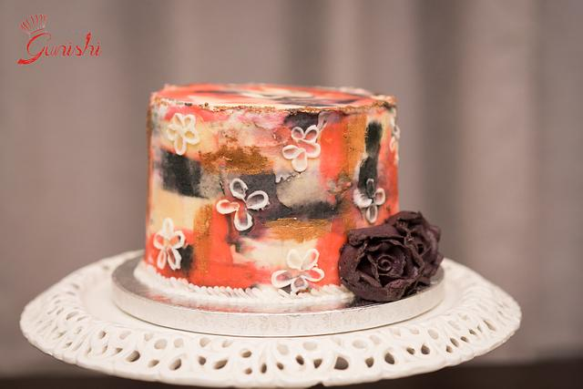 Caker Buddies Collaboration: Abstract Beauty