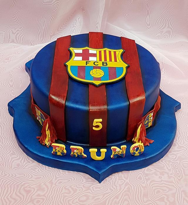 Fc Barcelona Cake Cake By Tirki Cakesdecor