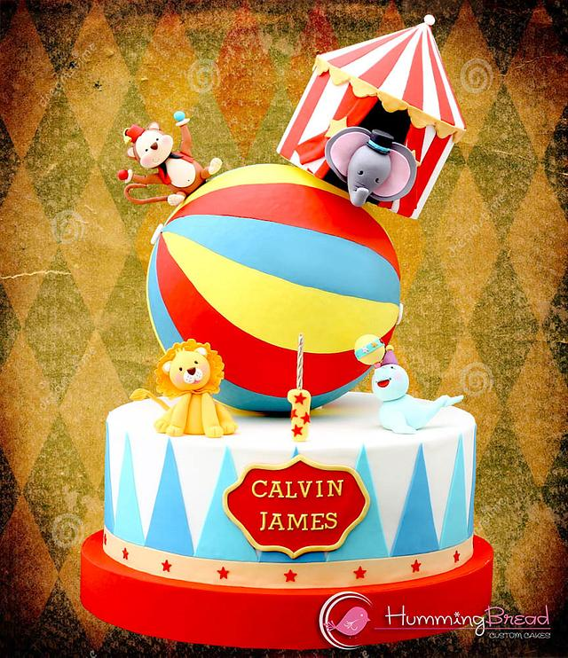 Circus Cake for Calvin