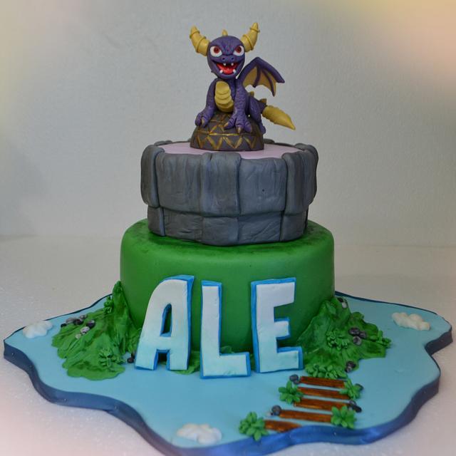 SKYLANDER CAKE