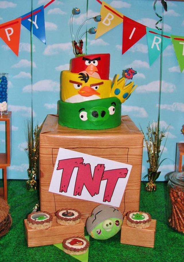 Angry Birds Topsy Turvy