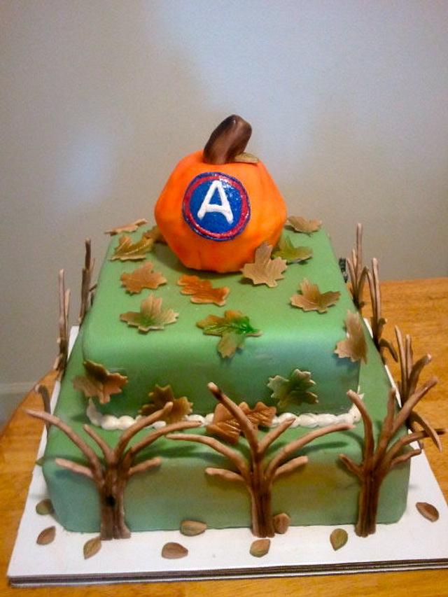 3rd Army harvest cake