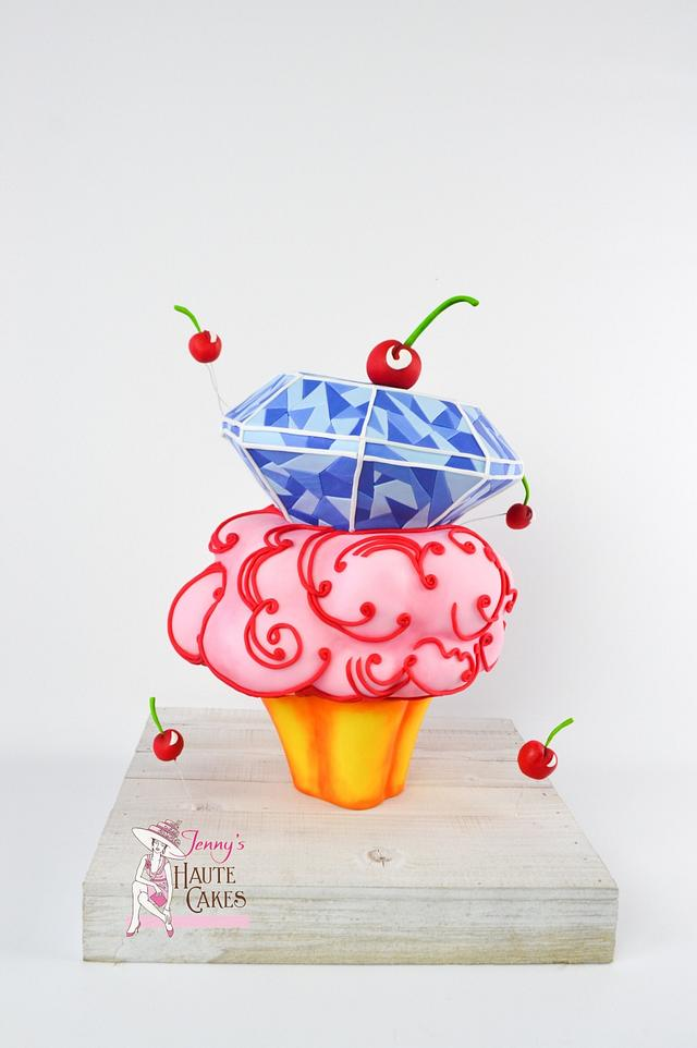 Twisted Treats Collaboration Cup Cake