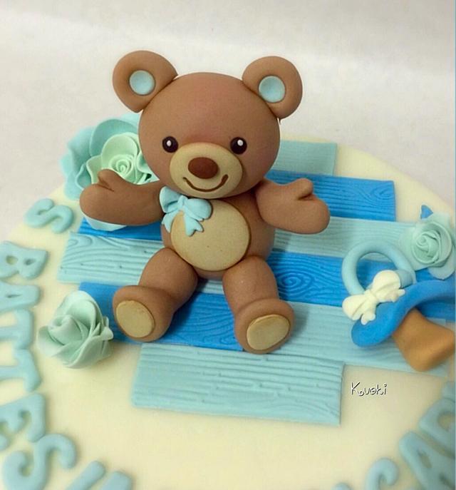 Bears cake topper