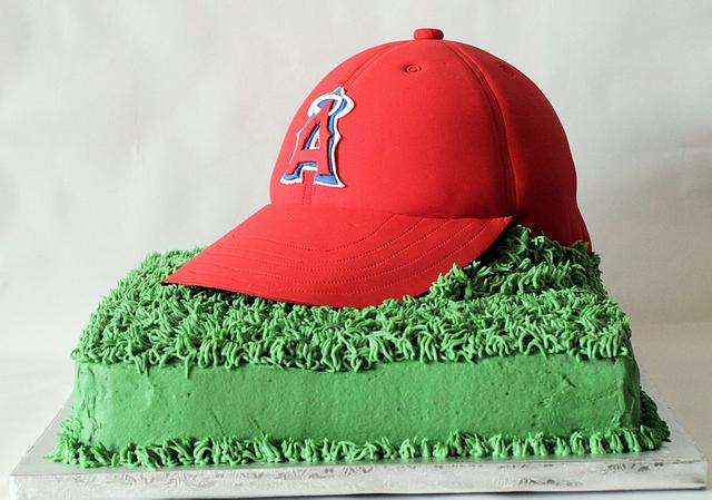 Angels Baseball cake