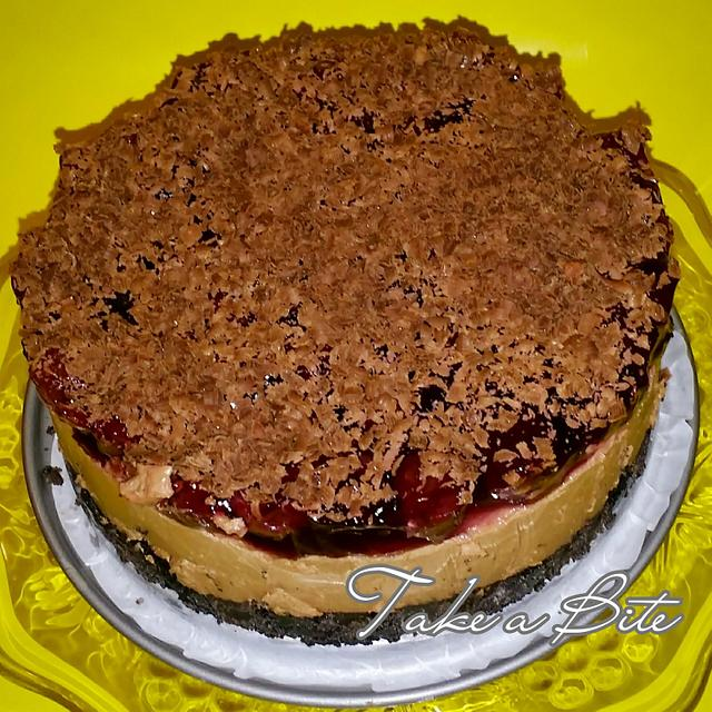Schwarzwalder Kirsch Cheesecake